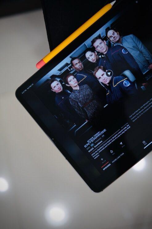 iPad Pro Netflix