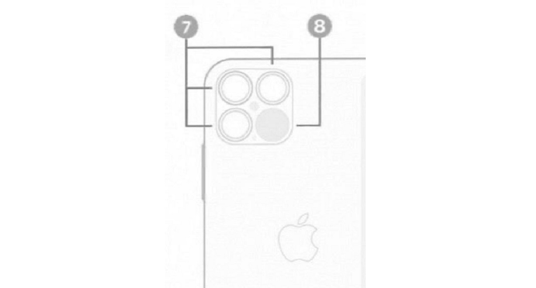 iPhone 12 Pro LiDAR Scanner