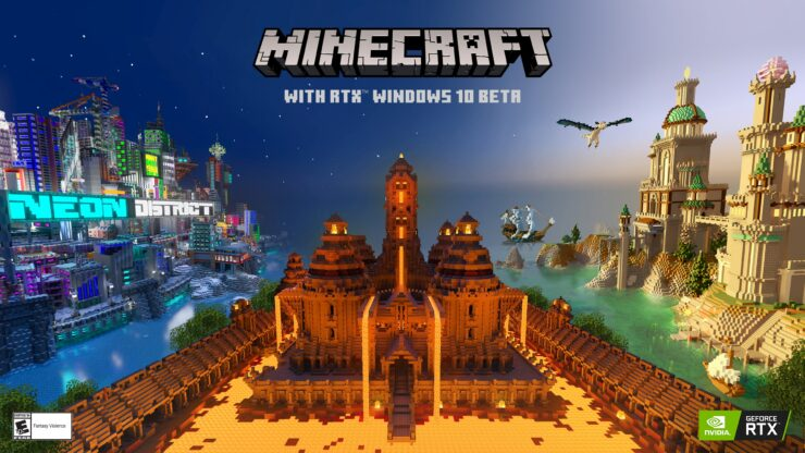 Minecraft RTX Beta Game Ready driver