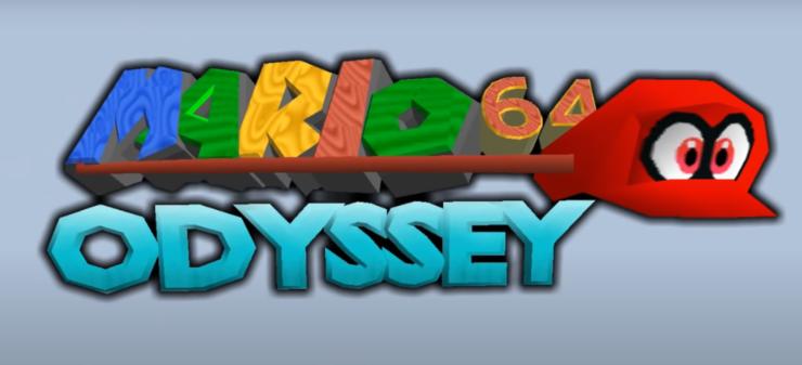 super mario odyssey 64 mod romhack