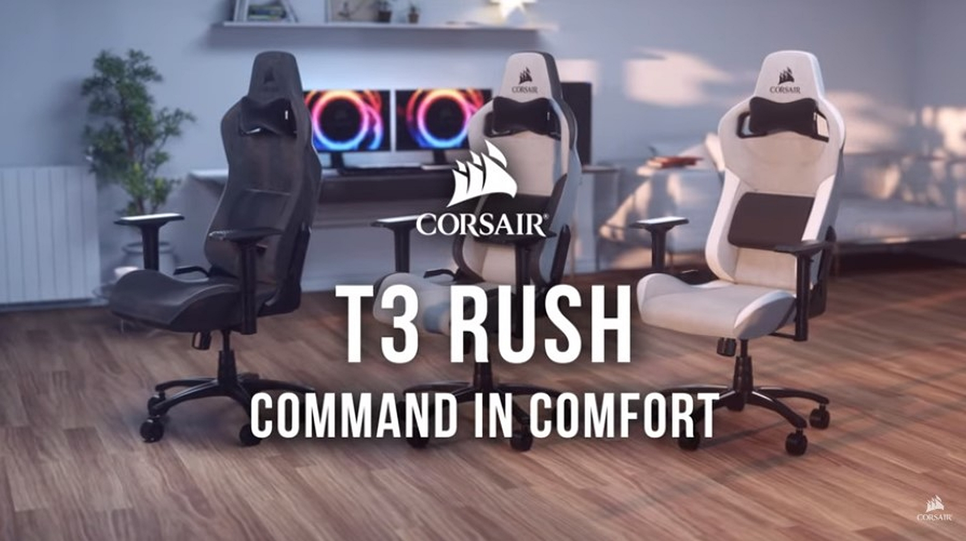 Corsair T3 Rush Gaming Chair Quot We Can Work From Home Quot Review