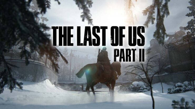 the last of us part II leaked footage ellie snow