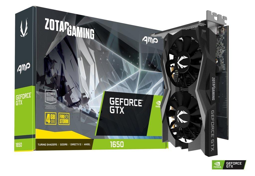 ZOTAC GeForce GTX 1650 AMP! GDDR6