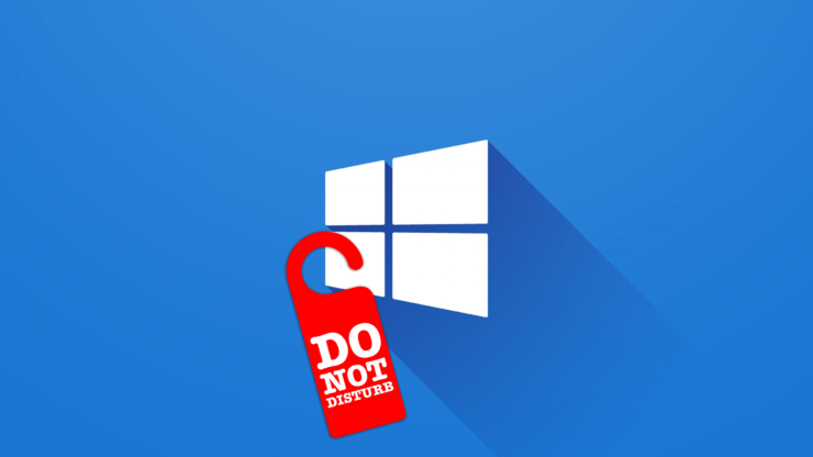 Focus Assist on Windows 10