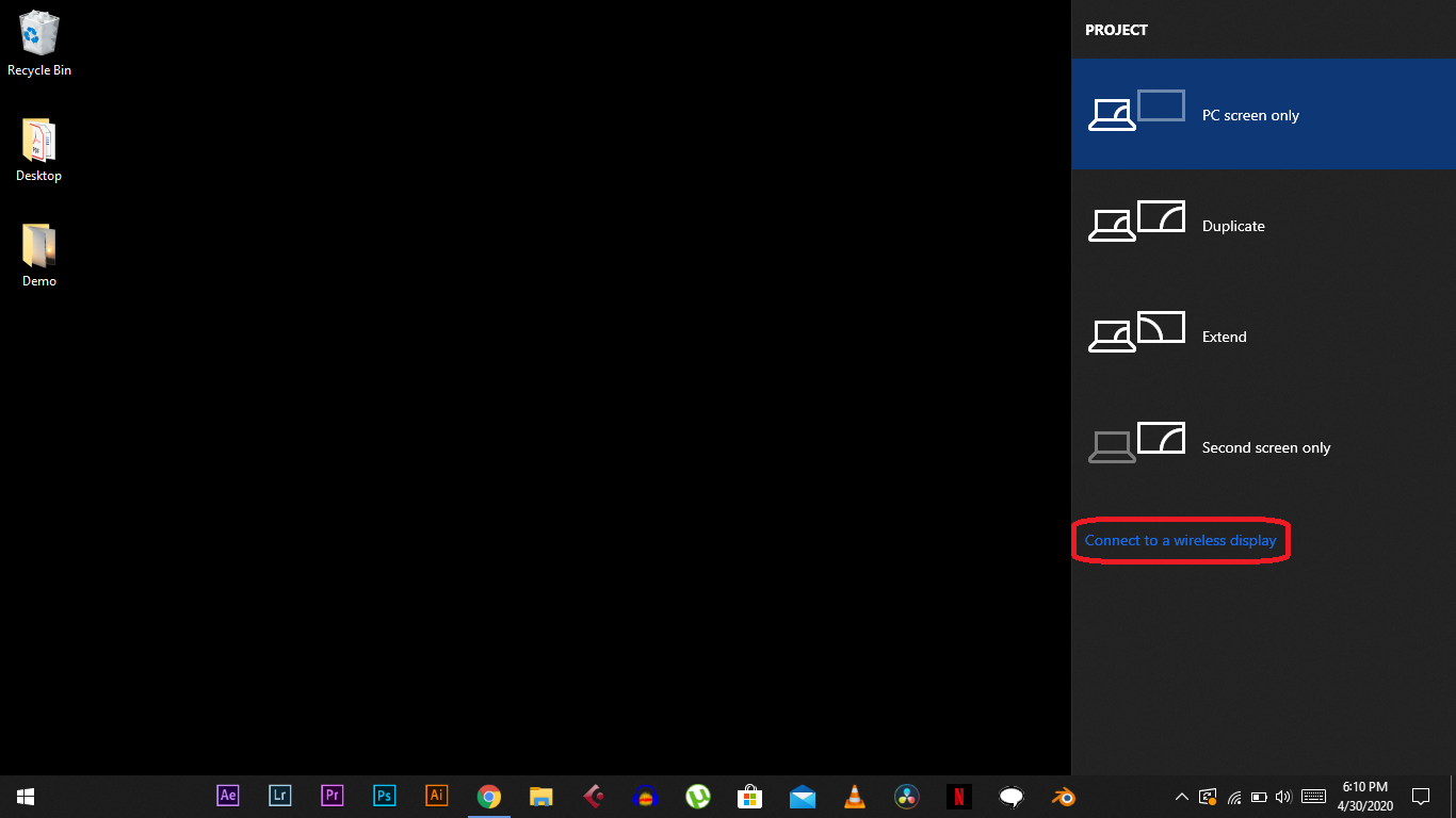 How to Use Your TV as a Second Display on Windows 10