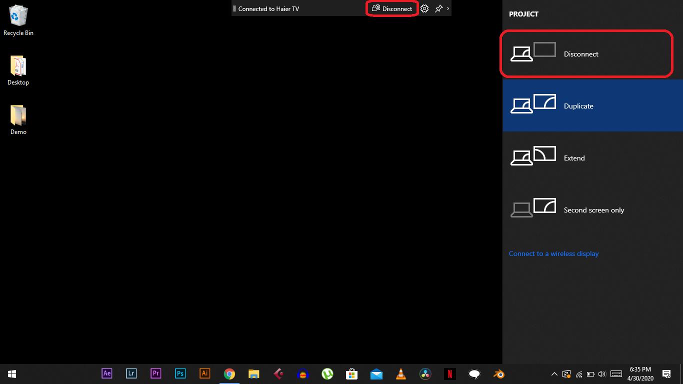 Miracast on Windows 10