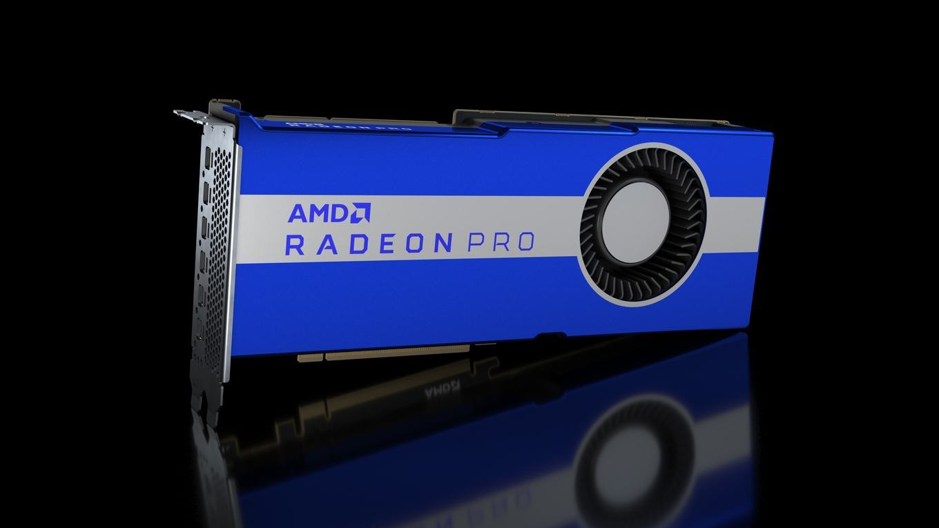 AMD Radeon PRO W6800 32 GB 'RDNA 2' Workstation Graphics Card Spotted