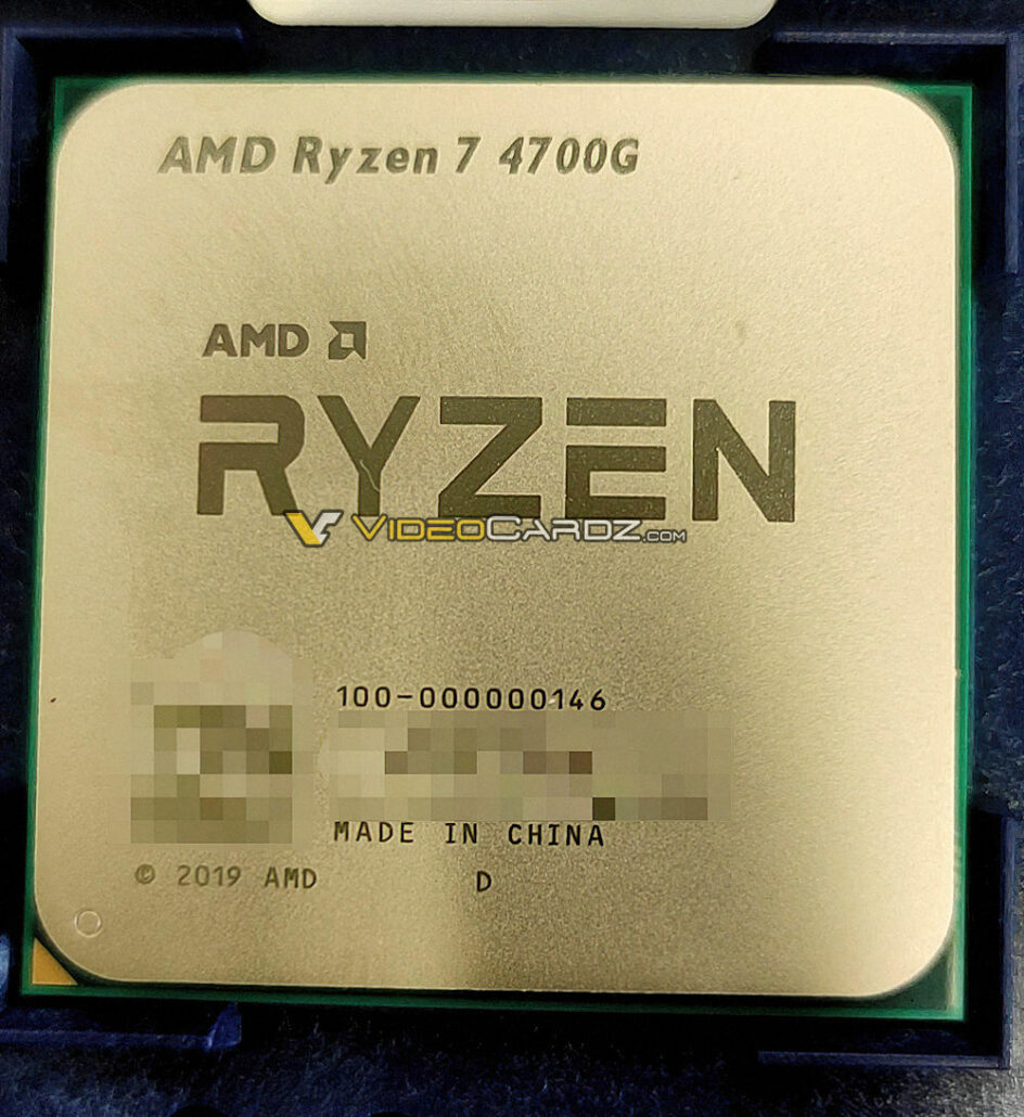 AMD Ryzen 7 4700G 8 Core Renoir Desktop APU With 2.1 GHz Vega Graphics