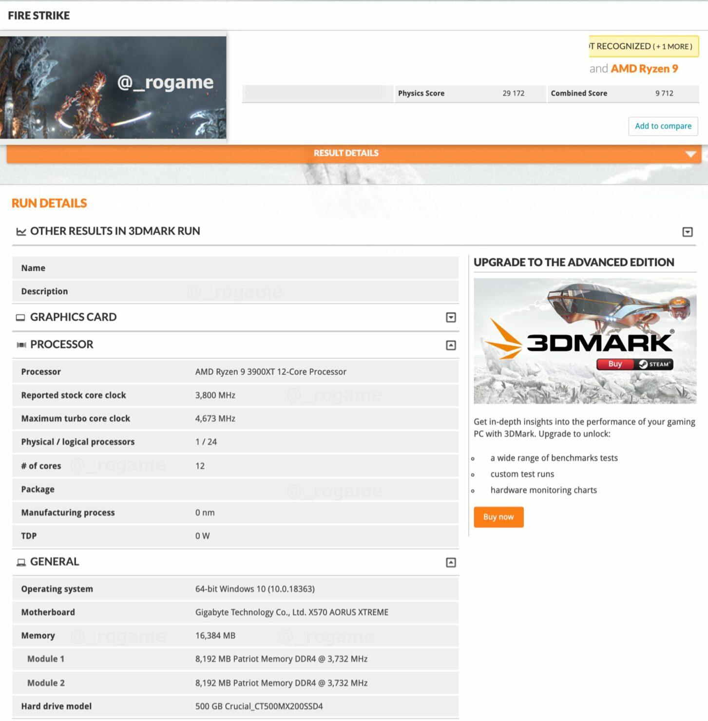 amd-ryzen-9-3900xt-12-core-cpu-3dmark-benchmark