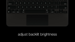 Adjust iPad Pro Magic Keyboard backlit brightness