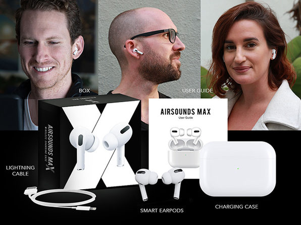 AirSounds MAX True Wireless Earbuds