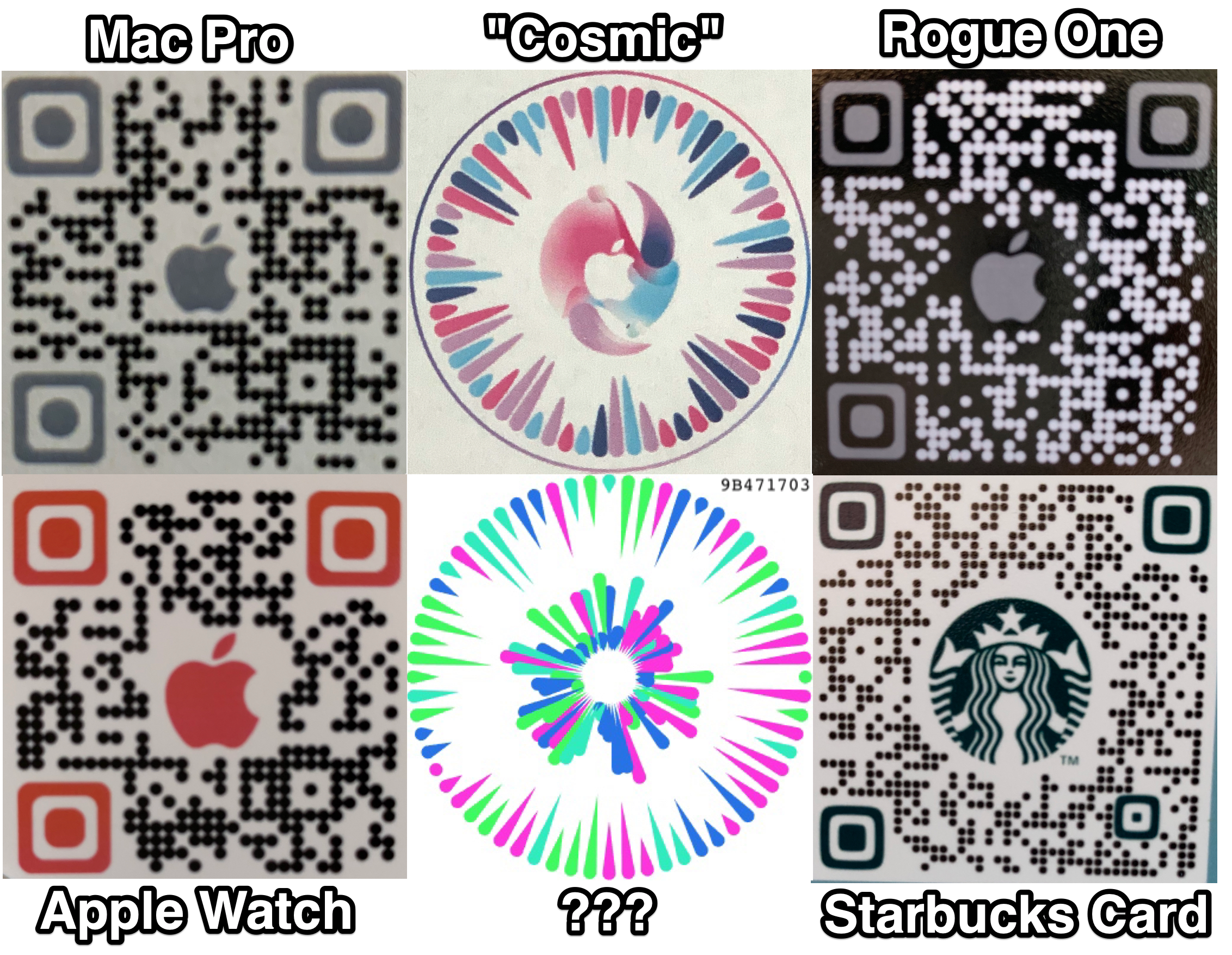 Apple QR Codes AR