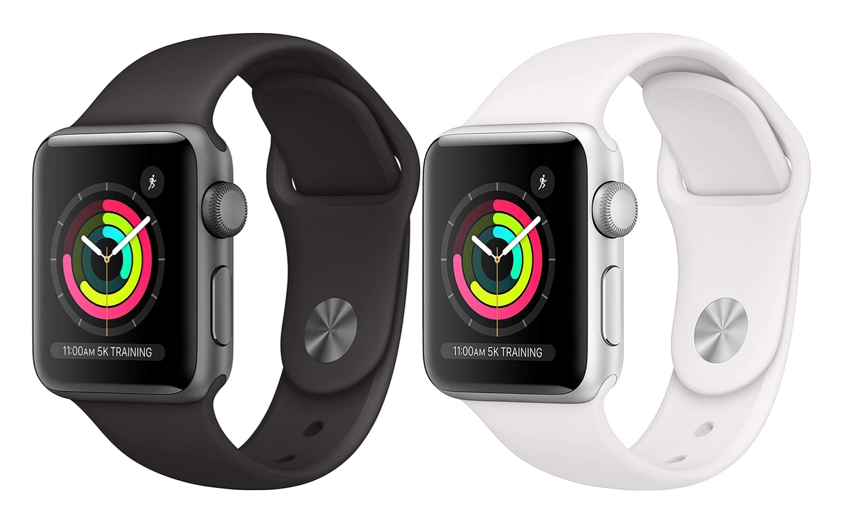 Space Gray and Silver Apple Watch Series 3 available for just $179