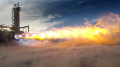 blue-origin-be4-oxygen-rich-liquefied-natural-gas-fueled-staged-combustion-rocket-engine-test
