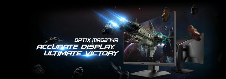 Image of article 'MSI Introduces the Optix MAG274R Gaming Monitor'