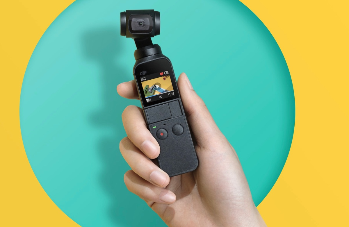 Get a flat $100 discount on the DJI Osmo Pocket camera
