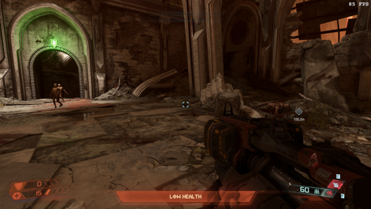 DOOM Eternal New Mod Removes Low-Health Red Screen Tint