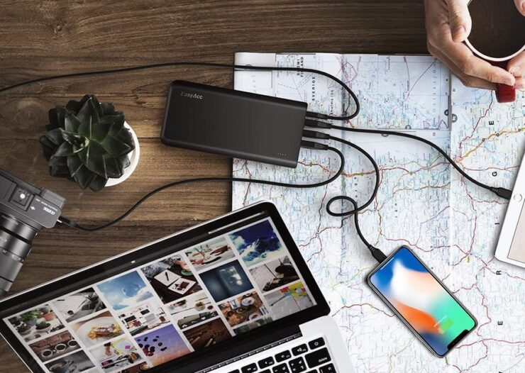 EasyAcc's 20,000mAh power bank with USB-C is currently 50% off