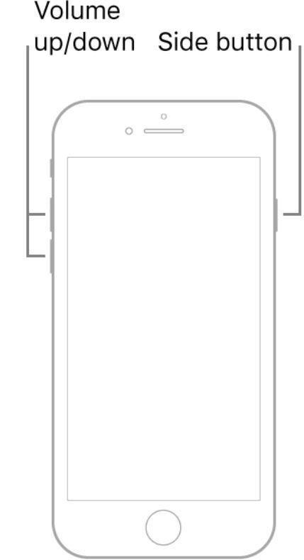 Force Restart iPhone SE