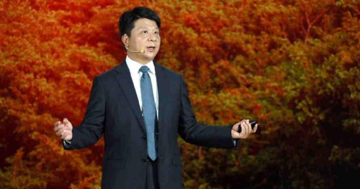 Huawei Chairman trade war keynote
