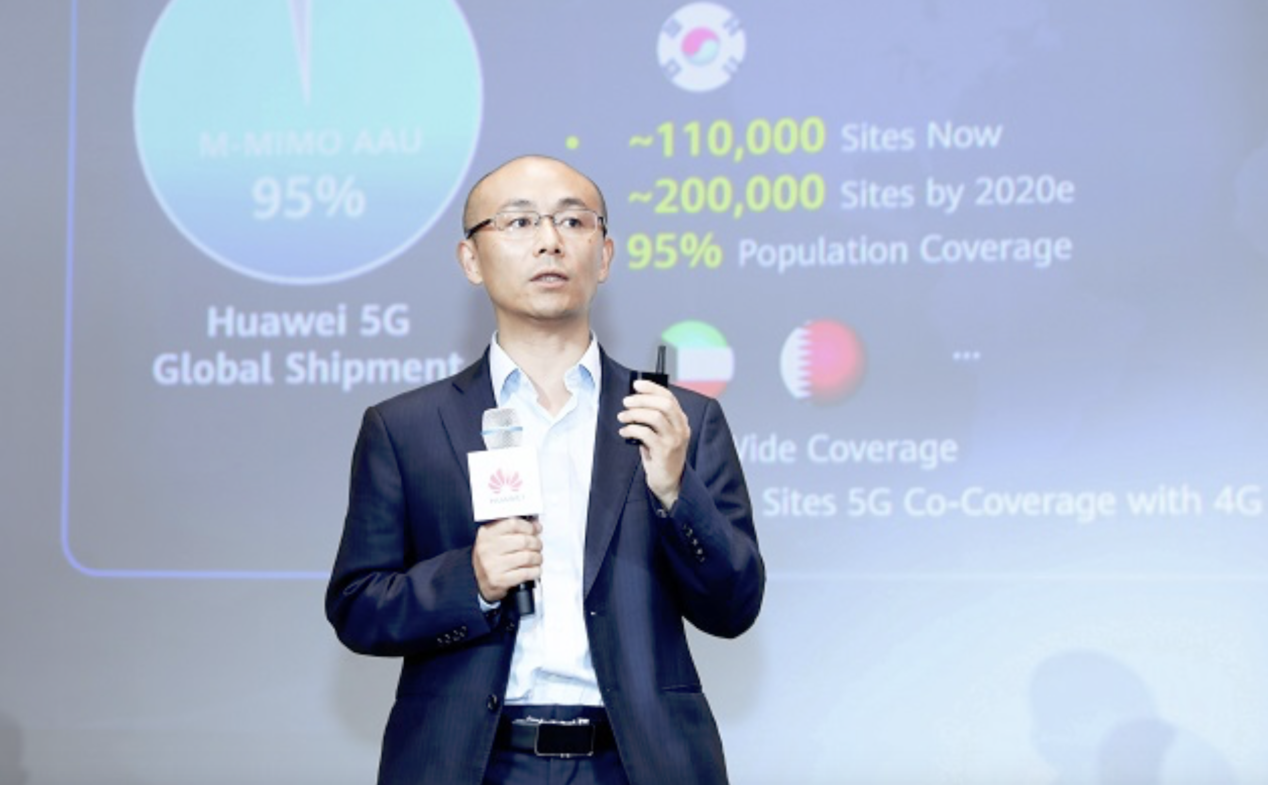 HUAWEI GAN BIN GLOBAL ANALYST SUMMIT 5G BASE STATION 2020