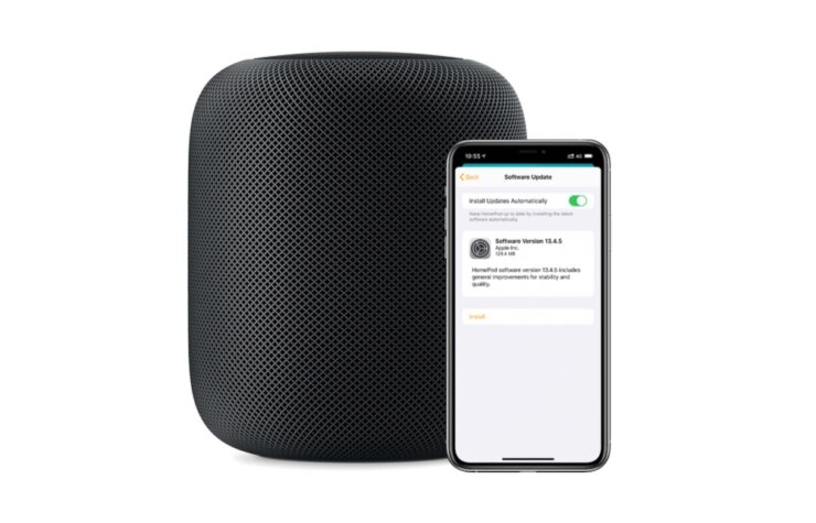 HomePod software update 13.4.5 is now available for download with fixes and stability improvements