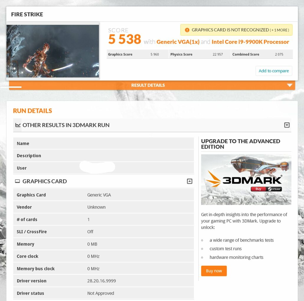 Intel's First Graphics Card featuring the Xe DG1 GPU graphics architecture has been benchmarked in 3DMark Firestrike