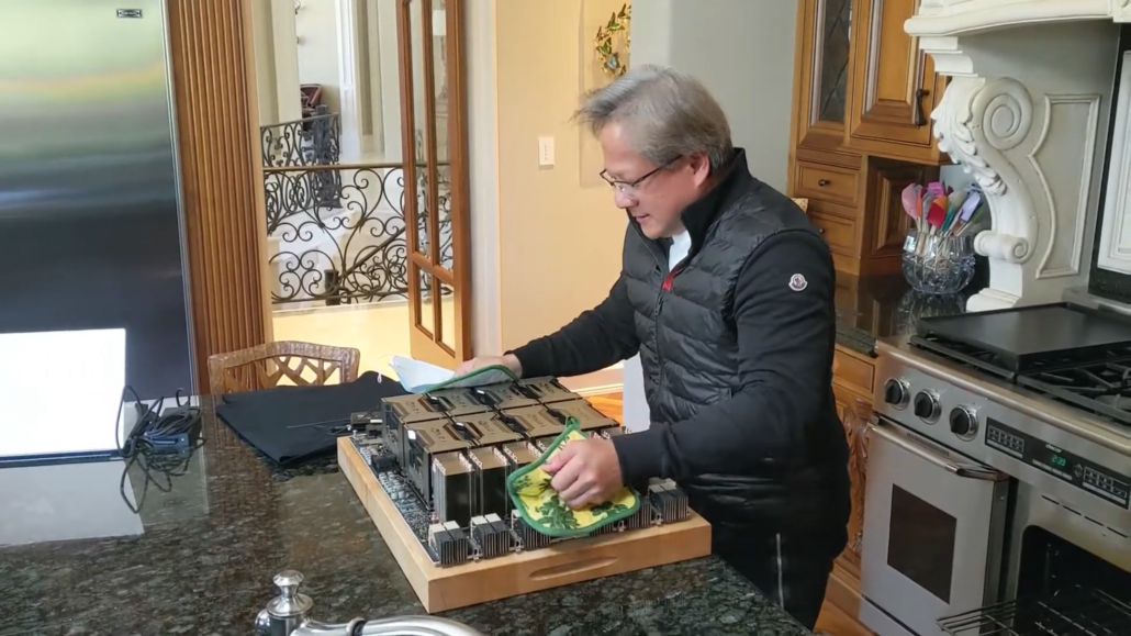 NVIDIA Ampere GPU Powered DGX A100 System Fresh Out of the Oven From Jensen Huang