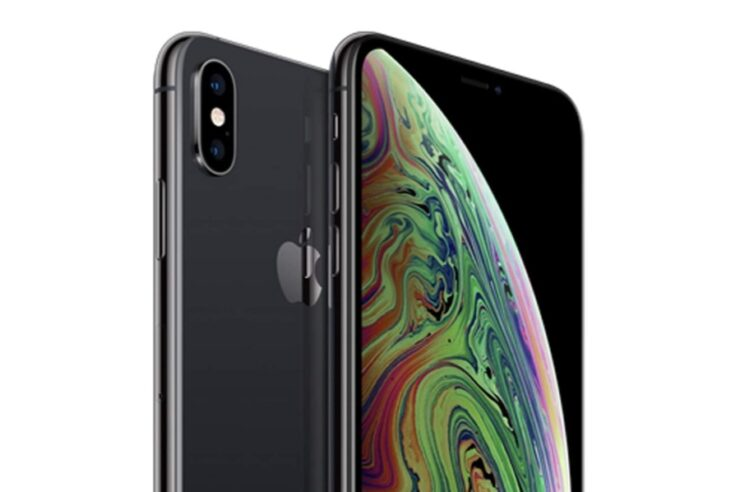 Renewed iPhone XS in Space Gray available for $488