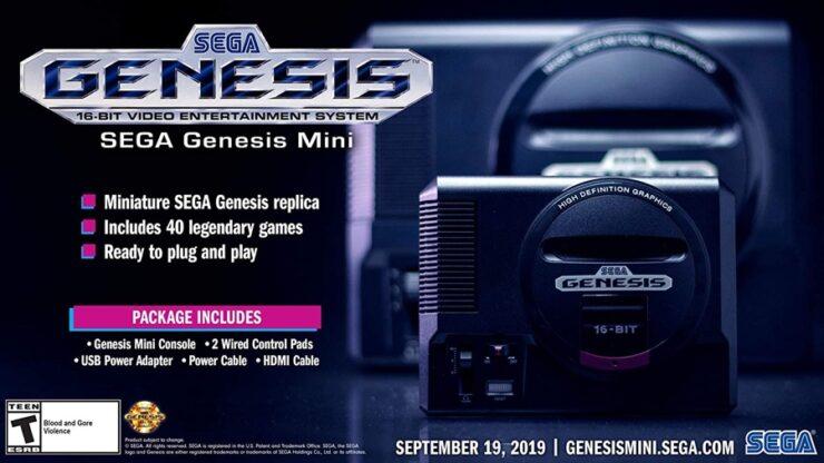 SEGA Genesis Mini discounted to $49.99