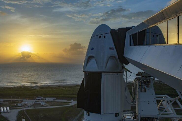 SpaceX Dragon Falcon 9 NASA Demo-2