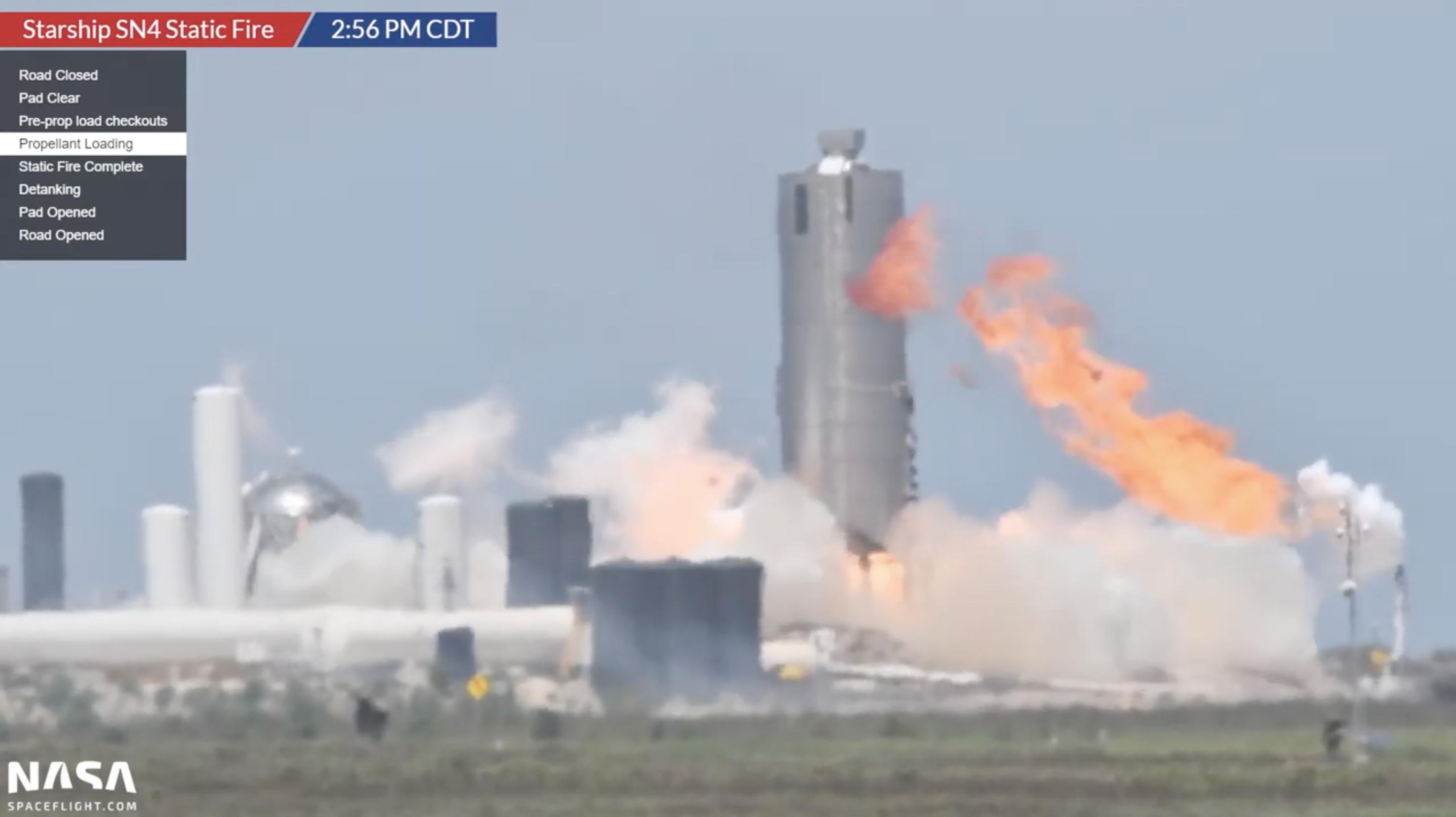 SpaceX Starship SN4
