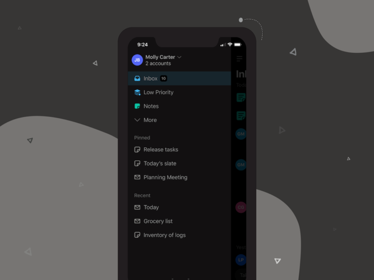 Twobird mobile2 — Dark Mode