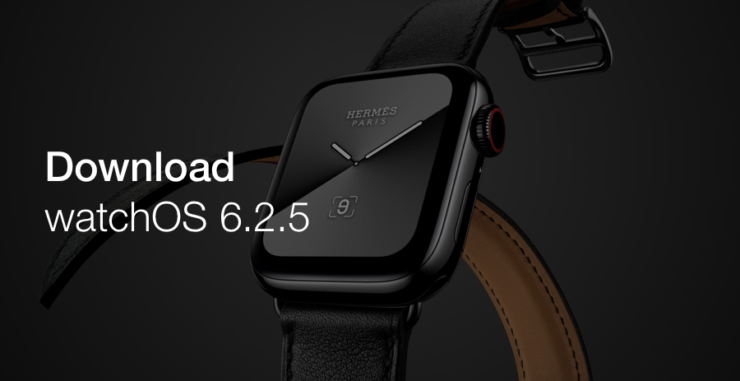 Download watchOS 6.2.5 final today for Apple Watch