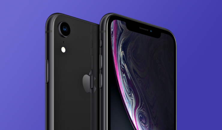 black iPhone XR, renewed and fully unlocked available for $460