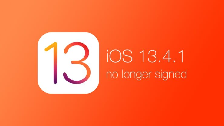 iOS signing status: Apple stops signing iOS 13.4.1 firmware for both iPhone and iPad