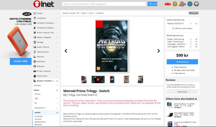 Updated Metroid Prime Trilogy Nintendo metroid-prime-trilog