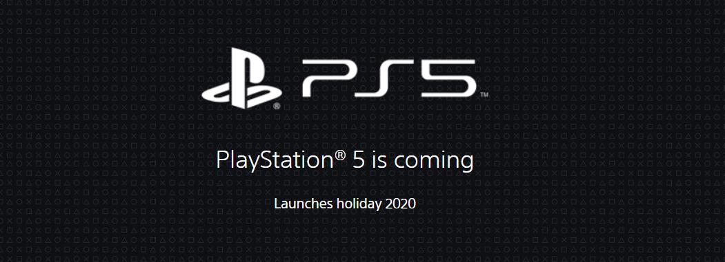 ps5 playstation 5 holiday 2020