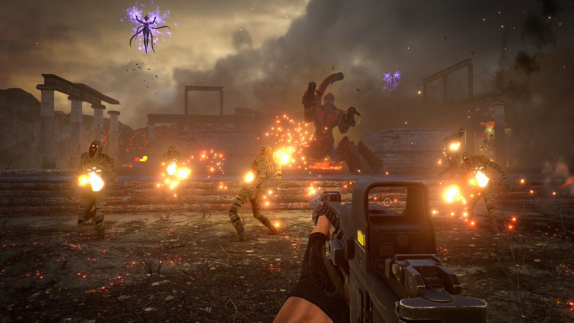 New Serious Sam 4 Screenshots Released Alongside Some Serious ...