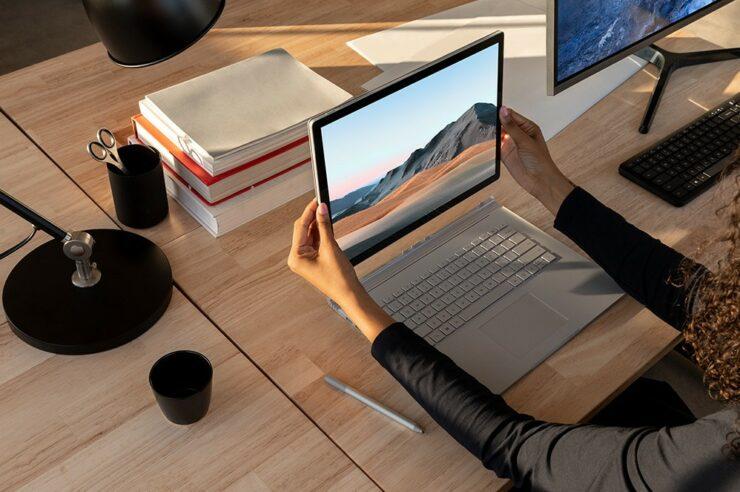 surface book 3 firmware updates uninstall Microsoft Edge