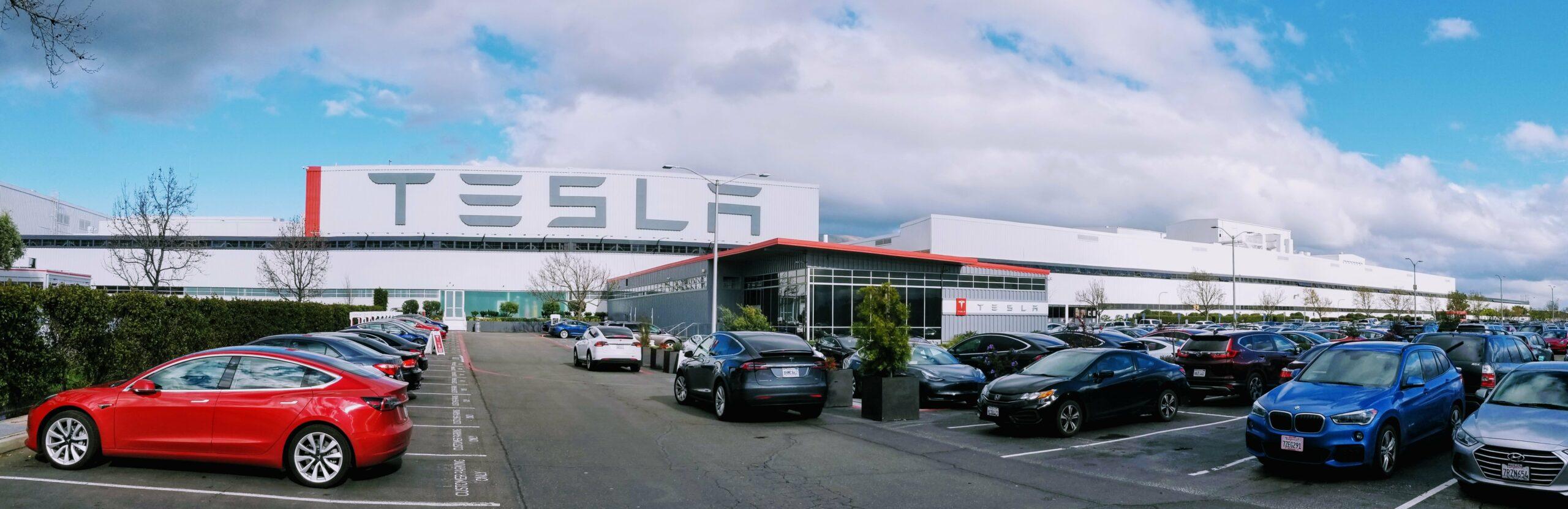 Tesla Fremont plant Alameda County