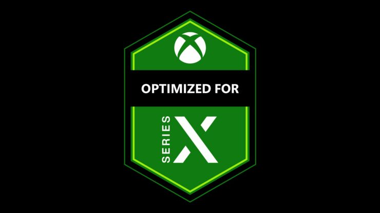 xbox series x optimized logo