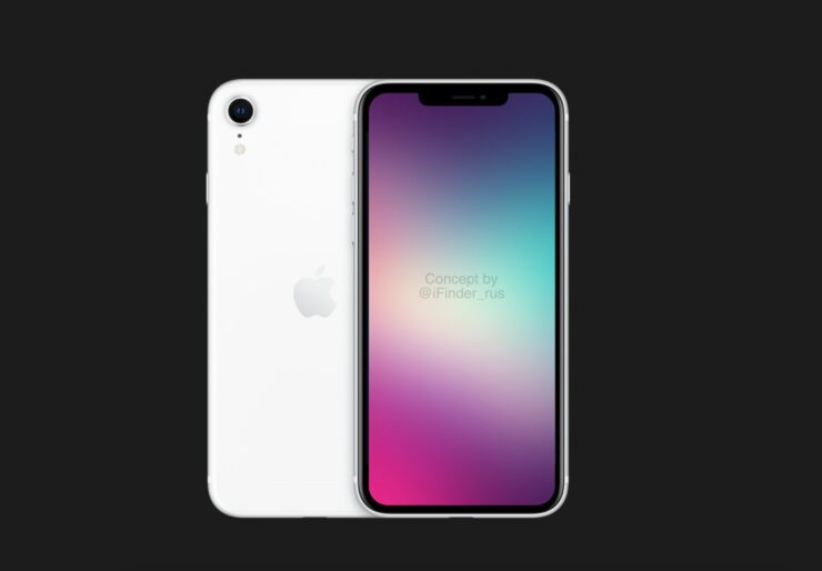 2022 iPhone SE Shares Lots of Similarities With the 2018 iPhone XR; Slim Bezels, Face ID Support, More Visible in New Concept