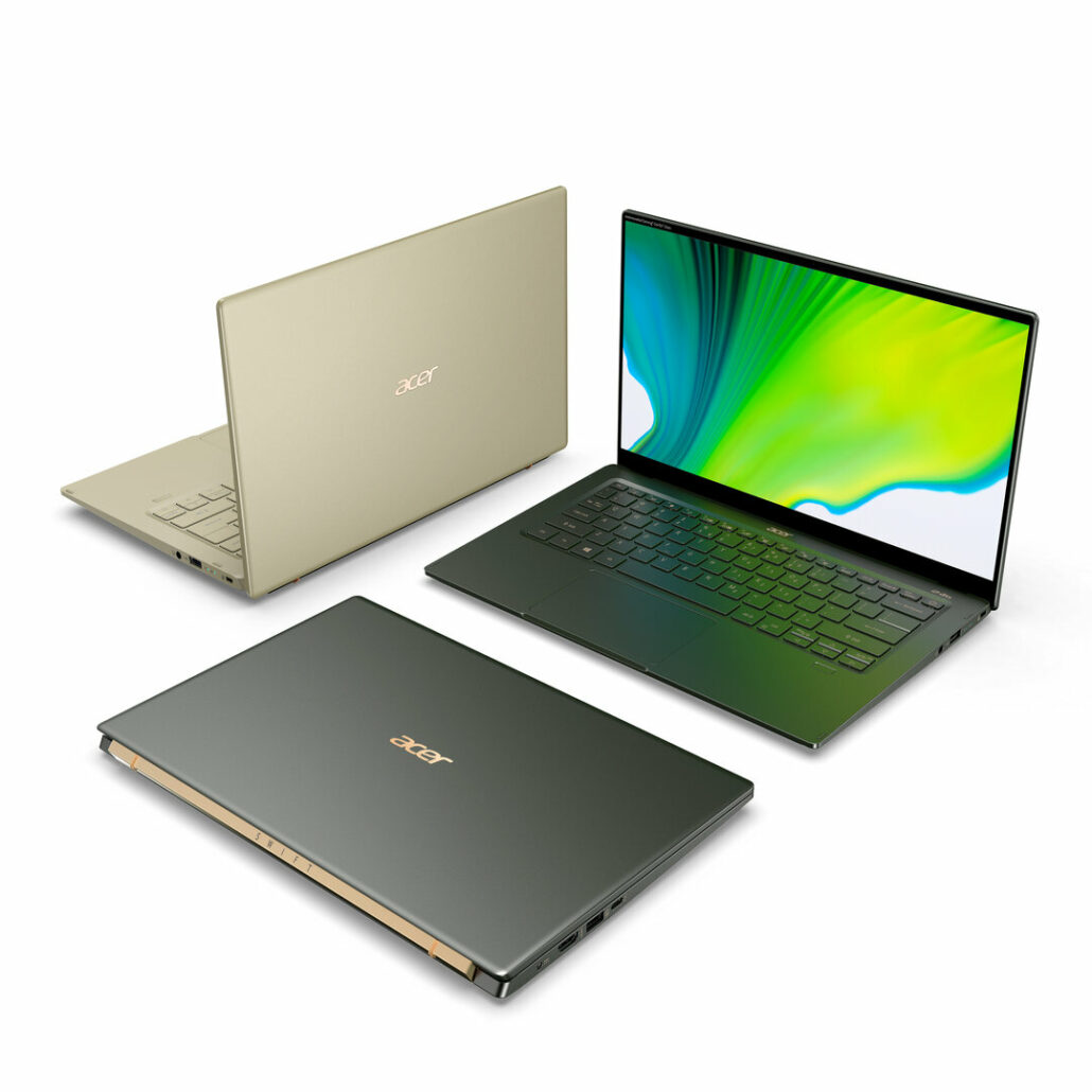 Acer Unveils Swift 5 With Intel's Latest Tigerlake CPUs