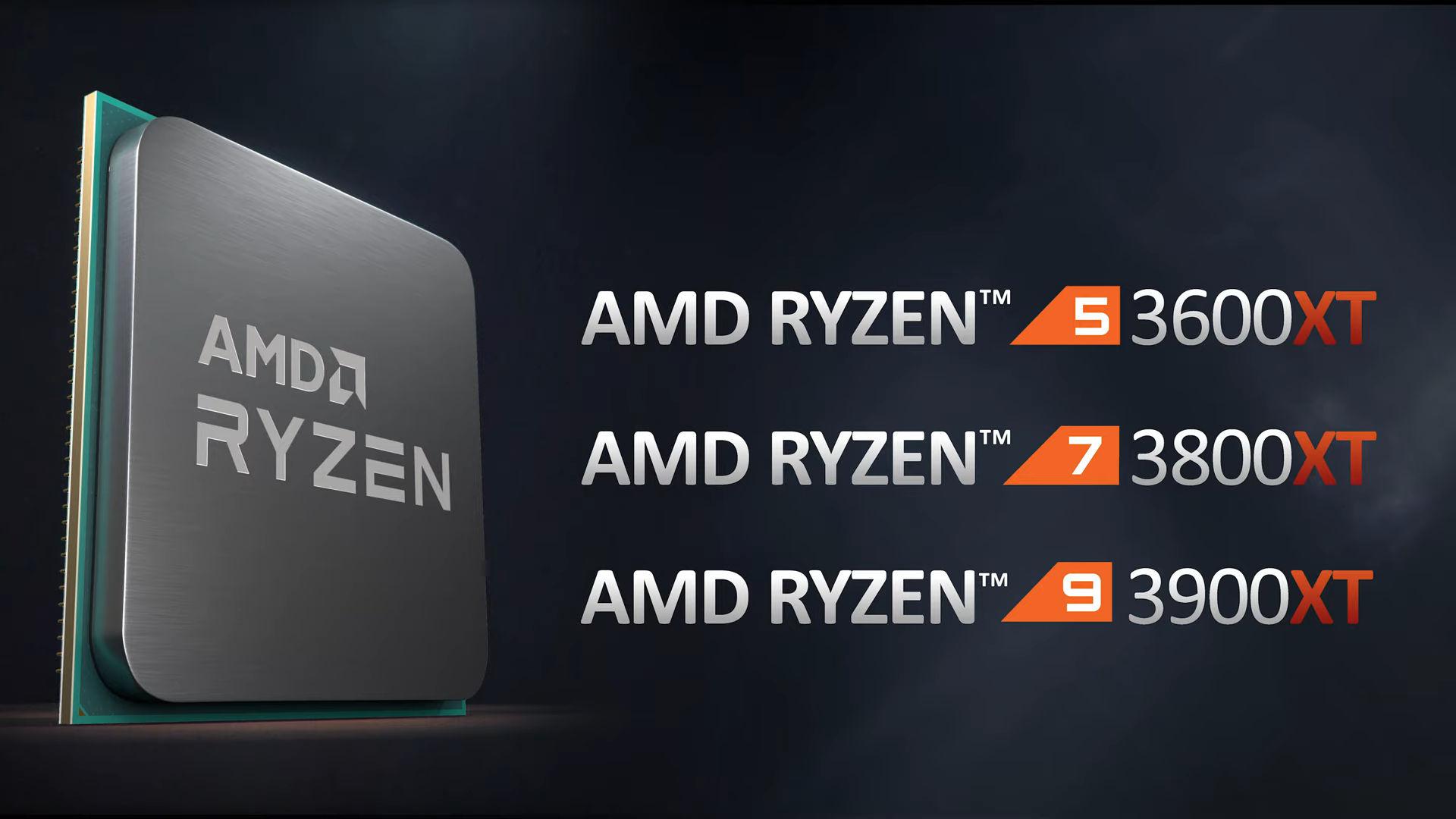 AMD Ryzen 9 3900XT, Ryzen 7 3800XT, Ryzen 5 3600XT Matisse Refresh ...