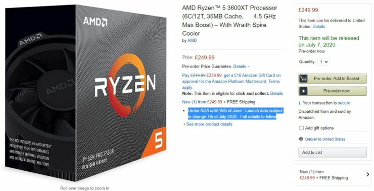 amd-ryzen-5-3600xt-6-core-matisse-refresh-cpu_amazon-listing