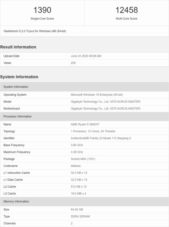 Amd Ryzen 9 3900xt Ryzen 7 3800xt Ryzen 5 3600xt Cpu Single Multi Core Cpu Benchmarks Leaked