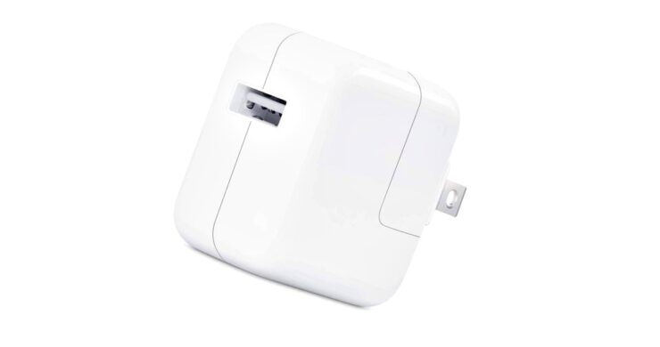 Apple original 12W wall charger currently just $14.99