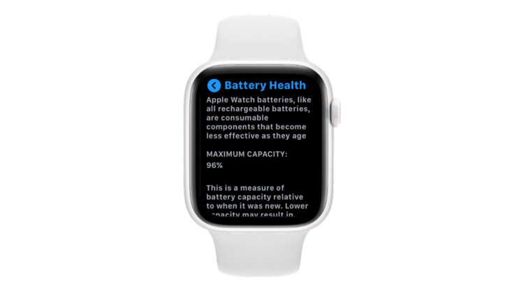 watchOS 7 Will Now Display Battery Health Stats for Compatible Apple Watch Models