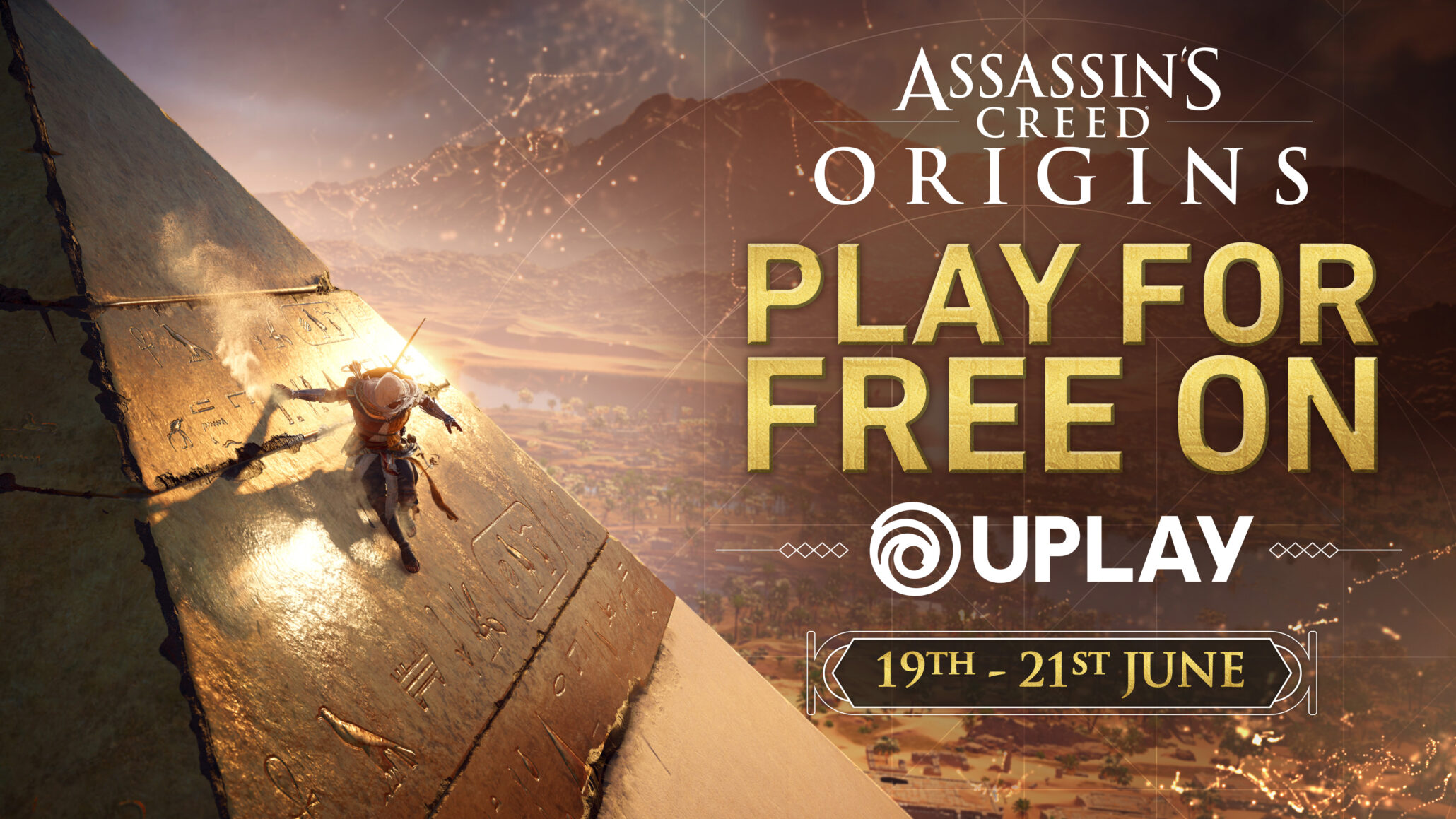 Assassin S Creed Origins To Be Free To Play This Weekend On Uplay